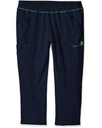 Carhartt - Blue Petite Plus Cross-flex Size Straight Leg Knit Waist Cargo Scrub Pant - Lyst