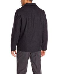 Perry Ellis - Multicolor Size Tall Melton Wool Jacket for Men - Lyst