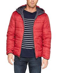 Benetton - Gray Jacket With Down Filling for Men - Lyst