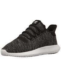 23fa5fd6f365f4 Lyst - Adidas Originals Tubular Shadow Knit Fashion Sneakers -