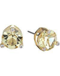 Kate Spade - Metallic Rise And Shine Small Stud Earrings - Lyst
