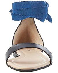 HUGO - Black 's Felix 10195626 01 Wedge Heels Sandals - Lyst
