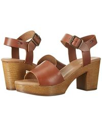 Tommy Hilfiger - Brown ''s A1385lice 1a1 Wedge Heels Sandals - Lyst