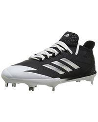 c7e92bd00ae648 Lyst - adidas Adizero Afterburner 4 S Baseball Shoes in Black for Men