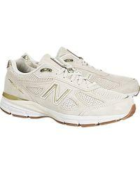 New Balance Multicolor 990v4 Running Shoe for men