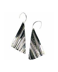 Sibilla G Jewelry - Metallic Sibilla G Oxidized German Silver Earrings - Lyst