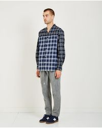 Iise | Blue 4 Panel Shirt for Men | Lyst