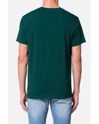AMI | Green Ami De Coeur T-shirt for Men | Lyst