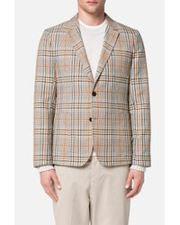 AMI | Natural Half Lined 2 Button Jacket for Men | Lyst
