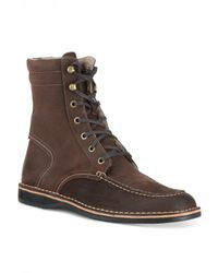 Andrew Marc - Brown Dorchester Sherpa for Men - Lyst