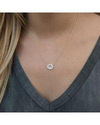 Anne Sisteron - Multicolor 14kt Rose Gold Moonstone Diamond Necklace - Lyst