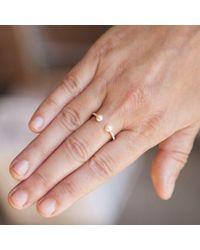 Anne Sisteron - Multicolor 14kt Rose Gold Diamond Pearl Tastemaker Ring - Lyst
