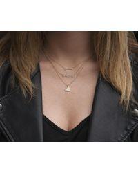 Anne Sisteron - Multicolor 14kt Rose Gold Diamond Arrow Necklace - Lyst