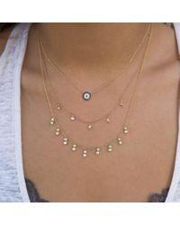 Anne Sisteron - Metallic 14kt Yellow Gold Diamond Bezel Drops Maisie Necklace - Lyst