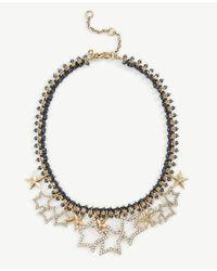 Ann Taylor - Metallic Stellar Star Necklace - Lyst