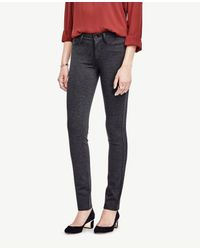 Ann Taylor | Gray Ponte Skinny Pants | Lyst