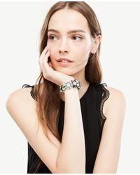 Ann Taylor - Blue Bandana Stretch Bracelet - Lyst