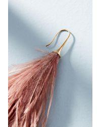 Serefina - Pink Winona Drop Earrings - Lyst