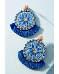 Olivia Dar | Blue Havana Drop Earrings | Lyst