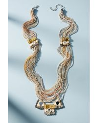 Anthropologie | Blue Desert Sunset Layered Necklace | Lyst