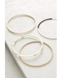 Anthropologie | Metallic Tay Bracelet Set | Lyst