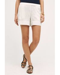 Elevenses | White Costa Maya Shorts | Lyst