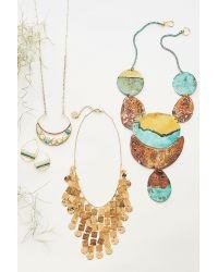 Anthropologie | Blue Destra Pendant Necklace | Lyst