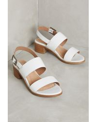 Anthropologie | White Seychelles Gallivant Sandals | Lyst