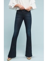 Citizens of Humanity   Blue Emmanuelle Low-rise Bootcut Jeans   Lyst