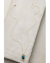 Anthropologie | Blue Night Sky Pendant Necklace | Lyst