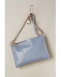 Clare V. | Blue Fabienne Crossbody Bag | Lyst