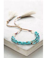 Bluma Project | Blue Paloma Wrap Bracelet | Lyst