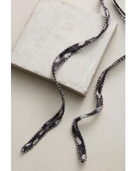 Chan Luu | Blue Dotted Wrap Necklace | Lyst