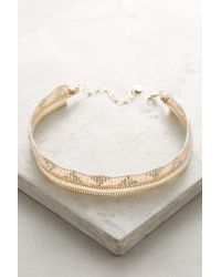 Anthropologie | Pink Constance Choker | Lyst