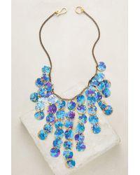 Sibilia | Blue Galaxy Bib Necklace | Lyst
