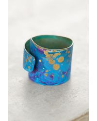 Sibilia | Multicolor Turquoise Swirl Ring | Lyst
