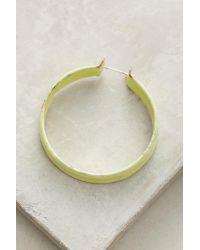 Melanie Rice - Multicolor Mellow Hoop Earrings - Lyst