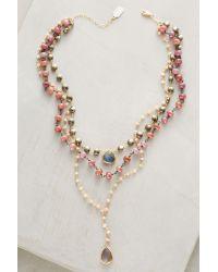Ela Rae   Metallic Yaeli Choker Necklace   Lyst