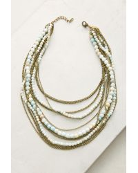 Lena Bernard | Metallic Valentina Layered Necklace | Lyst