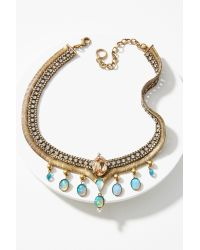 Lionette | Metallic Palermo Collar Necklace | Lyst