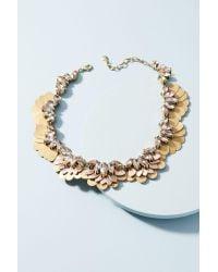 BaubleBar | Metallic Gilded Garden Collar Necklace | Lyst