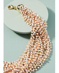Anthropologie - White Blair Collar Necklace - Lyst