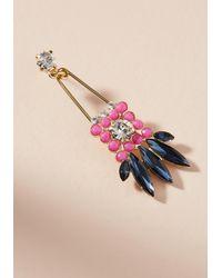 Zenzii - Pink Leilani Drop Earrings - Lyst