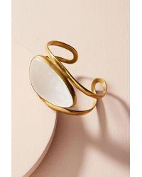 Lena Bernard | Metallic Lucite Ice Cuff Bracelet | Lyst