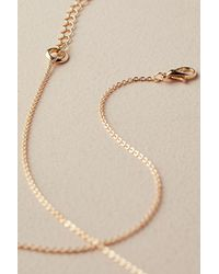 Anthropologie - Metallic Signa Textured Linked-ring Necklace - Lyst
