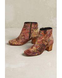 Hudson Jeans | Multicolor Garnett Velvet Boots | Lyst