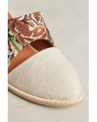 Jeffrey Campbell | Natural Tapestry Mules | Lyst