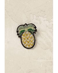 Macon & Lesquoy | Green Pineapple Brooch | Lyst