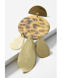 Sibilia | Metallic Animal Print Cascade Drop Earrings | Lyst