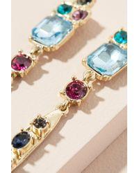 Anthropologie - Multicolor Elena Jewelled Drop Earrings - Lyst